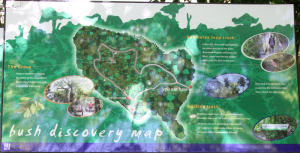 Riccarton Bush walking map