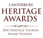 Heritage tourism award 2016